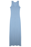 Racerback Maxi Dress - Sky Blue