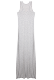 Racerback Maxi Dress - Heather Grey