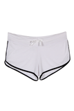 Drawstring Shorts - White