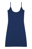 Slipdress (Short) - Denim Blue