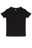 V-Neck T-Shirt - Black
