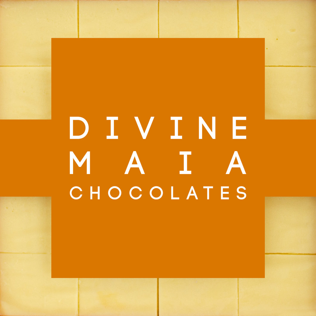 Divine Maia Chocolates Passion Fruit