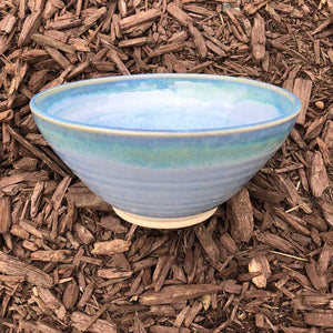 Blue and Jade Bowl by Rosemarie Durr - Craft Shop Bantry