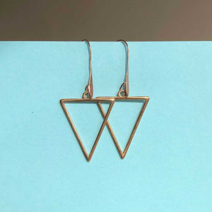 Triangle Earrings - Craft Shop Bantry