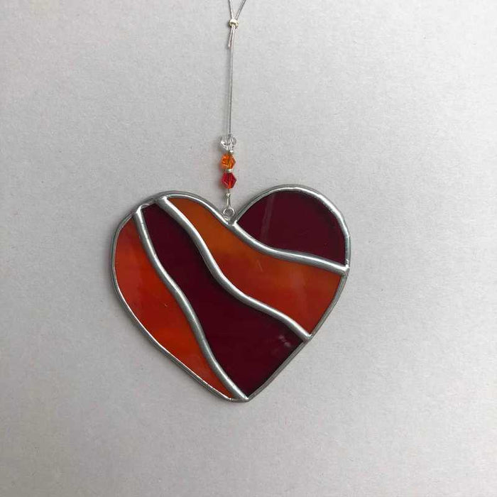 Stained Glass Love Heart