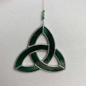 Stained Glass Celtic Trinity Knot - Craft Shop Bantry