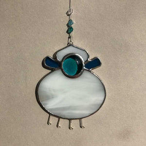 Stained Glass Fat Sheep - Craft Shop Bantry
