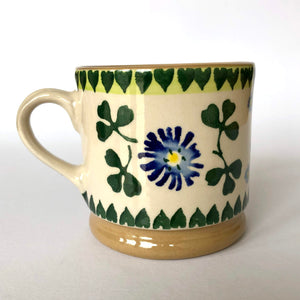 Nicholas Mosse Cup in Clover Pattern - Craft Shop Bantry