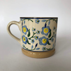 Nicholas Mosse Cup in Forget Me Not Pattern - Craft Shop Bantry