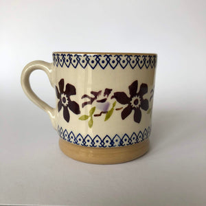 Nicholas Mosse Cup in Clematis Pattern - Craft Shop Bantry