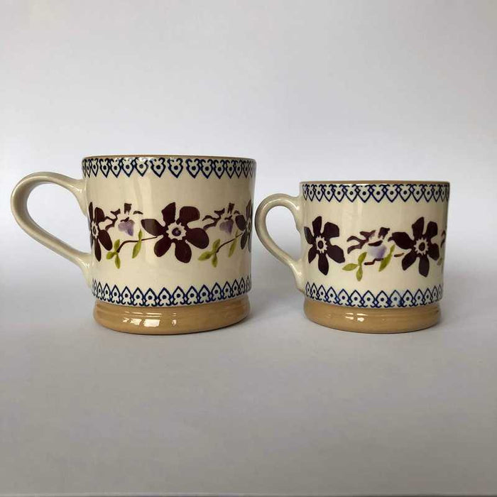 Nicholas Mosse Cup in Clematis Pattern