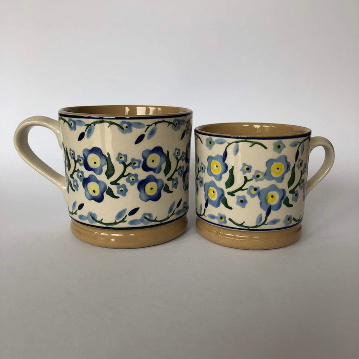 Nicholas Mosse Cup in Forget Me Not Pattern