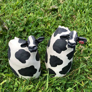 Tall Ceramic Cows by Joanne Robey - Craft Shop Bantry