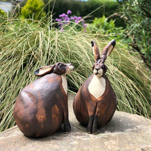 Ceramic Hare by Joanne Robey