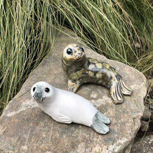 Ceramic Seals by Anne Hayes - Craft Shop Bantry