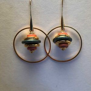Movement Earrings - Craft Shop Bantry