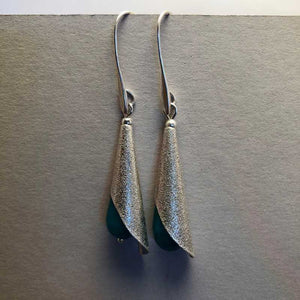 Jade drop Earrings - Craft Shop Bantry