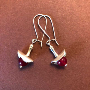 Red Berry Earrings - Craft Shop Bantry