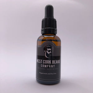Peppermint and Tea Tree Beard Oil (30ml) - Craft Shop Bantry