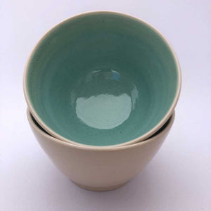 Teal Bowls by Jackie Dee - Craft Shop Bantry