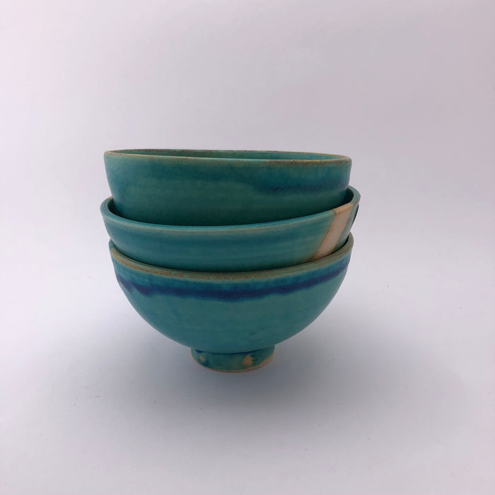 Small Turquoise Bowl by Marianne Klopp