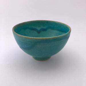 Small Turquoise Bowl by Marianne Klopp - Craft Shop Bantry