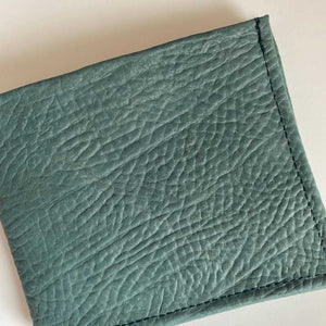 Mens Wallet - Petrol and Green
