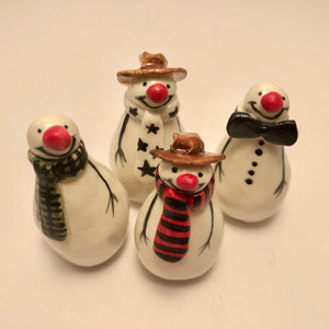 A Selection of Ceramic Christmas Decorations (group3) by Joanne Robey