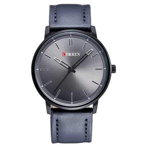 CURREN 8233 Fashion Male Leather Quartz Watch Elegant Business Men Style Wrist Watch
