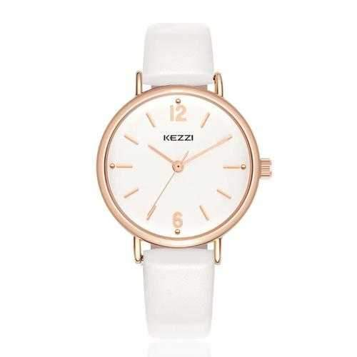 Fashion Simple Style Watch Leather Strap Women Quartz Watch