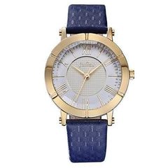 JULIUS 789 Fashion Luxury Leather Strap Ladies Student Quartz Watch