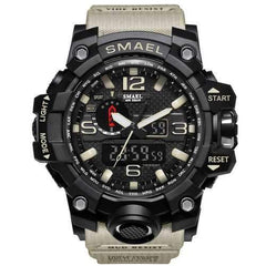 SMAEL 1545 Waterproof Sport Watch Dual Display Watch