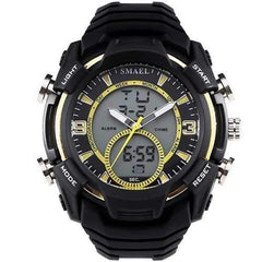 SMAEL 1349 Stopwatch Men Sport Watch Waterproof Double Display Digital Wrist Watch