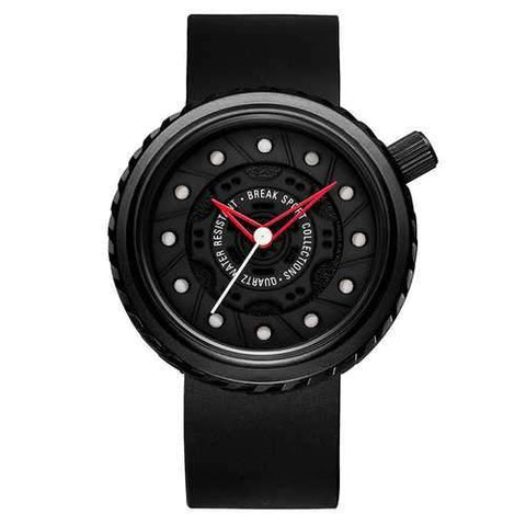 BREAK M728 Casual Style Men Wrist Watch Rubber Strap Creative Quartz Watch