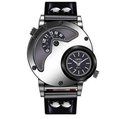 YNFRU Fashionable Men Creative Watch