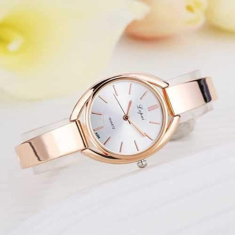 Elegant Designed Rose Golden Ladies Watch