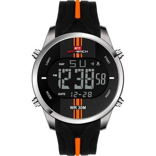 KAT-WACH KT716 Fashion Silicone Waterproof Digital Watch