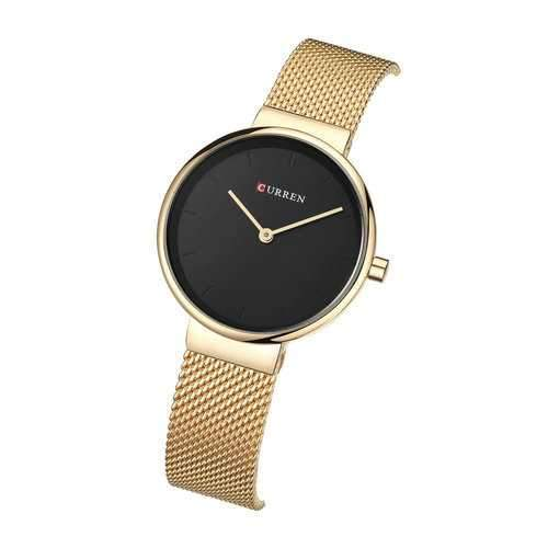 CURREN 9016 Casual Style Simple Dial Women Quartz Watch