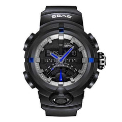 SBAO S-8012-C Luminous Stopwatch Dual Display Digital Watch