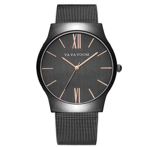 VA VA VOOM 8001 Business Style Casual Dial Men Quartz Watch