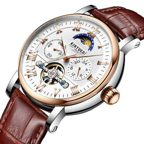 KINYUED JYD-J029 Moon Phase Automatic Mechanical Watch