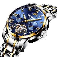 KINYUED JYD-J028 All Steel Band Automatic Mechanical Watch