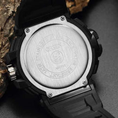 OHSEN AD1712 Luminous Outdoors Dual Display Digital Watch