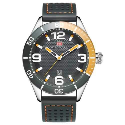MINI FOCUS MF0155G Date Display Waterproof Men Wrist Watch