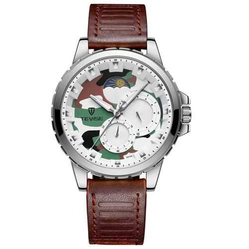 TEVISE T815 Military Calendar Automatic Mechanical Watch