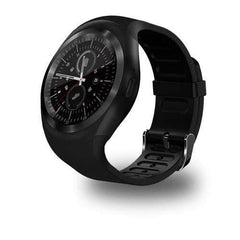 Y1 Smart Wrist Watch - Black