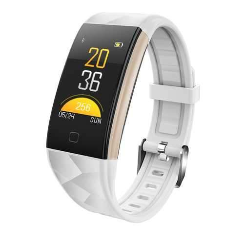T20 Smart Watch Bracelet - White