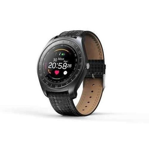 V10 Waterproof Sport Smart Watch - Black