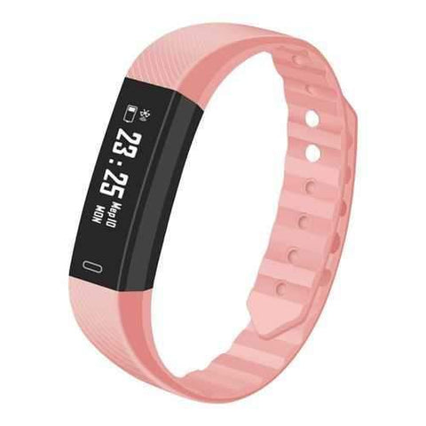 IP67 Bracelet (WITH Heart Rate, Pink)
