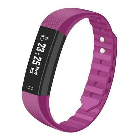 IP67 Bracelet (WITHOUT Heart Rate, Purple)
